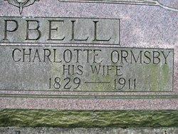 Charlotte Elizabeth <I>Ormsby</I> Campbell