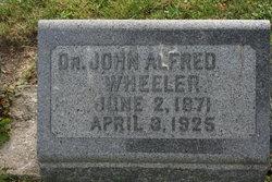 Dr John Alfred Wheeler