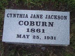 Cynthia Jane <I>Jackson</I> Coburn