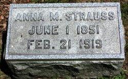 Anna M. <I>Reinsmith</I> Strauss