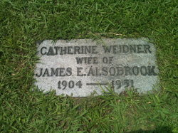 Catherine Marguerite <I>Weidner</I> Alsobrook