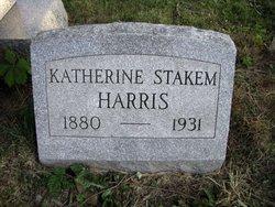 Katherine <I>Stakem</I> Harris