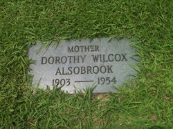 Dorothy Regina <I>Wilcox</I> Alsobrook