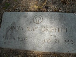 "Anna May ""Annie"" <I>Camp</I> Griffith"
