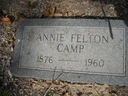 "Lenora Ann ""Annie"" <I>Felton</I> Camp"