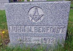 John M. Benedict
