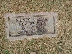 Sidney E Dean