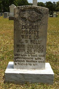 "Millie ""Duckey"" <I>Hussey</I> Bell"