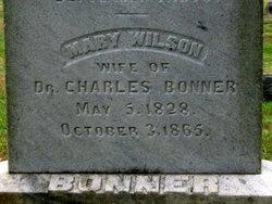 Mary <I>Wilson</I> Bonner