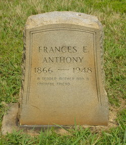 Frances Ellen <I>Ledford</I> Anthony