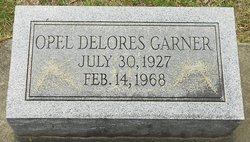 Opel Delores <I>Williams</I> Garner