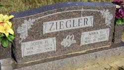 Anna G <I>Booth</I> Ziegler