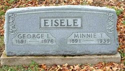 Minnie <I>Thorn</I> Eisele