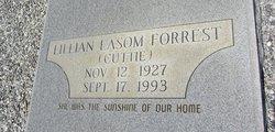 "Lillian ""Cutie"" <I>Easom</I> Forrest"