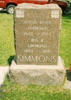 Anna <I>Pope</I> Simmons