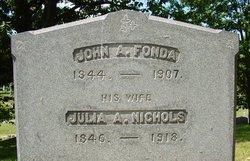 Julia A. <I>Nichols</I> Fonda