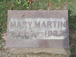Mary <I>Scholl</I> Martin