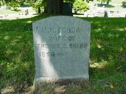 M. K. <I>Fonda</I> Sharp