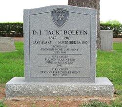 """David John """"Jack"""" Boleyn"""