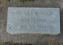 Margaret Alice <I>White</I> Moore