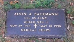 Alvin A Backmann