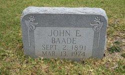 John Ernest Baade