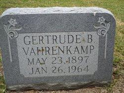 Gertrude Sophia <I>Baade</I> Vahrenkamp