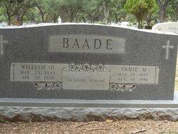 """William Henry """"Bill"""" Baade"""