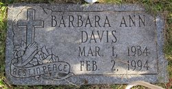 Barbara Ann <I>Oppman</I> Overbeck-Davis