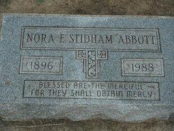 Nora E <I>Stidham</I> Abbott