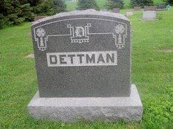 """Wilhelmina """"Minna"""" <I>Hillmann</I> Dettmann"""