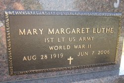 Mary Margaret <I>Travis</I> Luthe