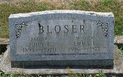 Emma E <I>Kamerer</I> Bloser