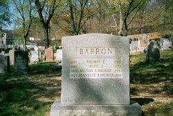 Marie J. <I>Downes</I> Barron