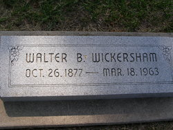Walter Bayard Wickersham