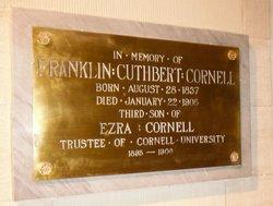 Franklin Cuthbert Cornell, Sr