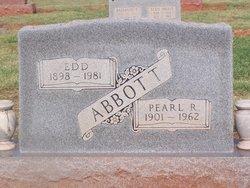Jessie Pearl <I>Reed</I> Abbott