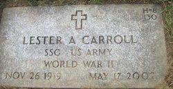 Lester A Carroll