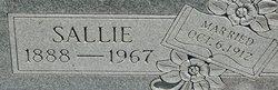 Sallie Worley <I>Yancey</I> Starr