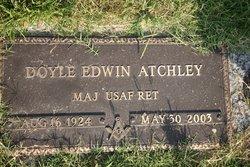 Maj Doyle Edwin Atchley