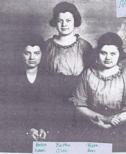 Bertha Cleo <I>Stoffer</I> Hahn