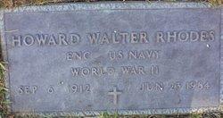 Howard Walter Rhodes
