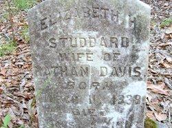 Elizabeth <I>Studdard</I> Davis