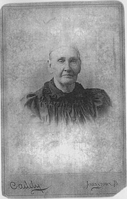"Ann ""Nancy"" <I>Shrader</I> Adams"