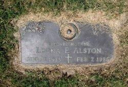 Leona E. Alston
