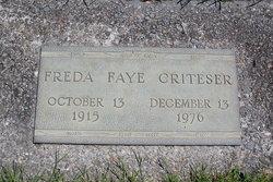 Freda Faye <I>Lehman</I> Criteser