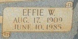 Effie <I>Wix</I> Robinson