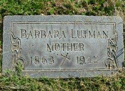 Barbara <I>Listermann</I> Lutman
