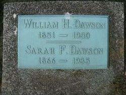 Sarah Frances <I>Isgrigg</I> Dawson