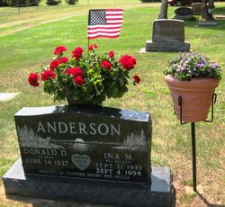 Ina M <I>Nelson</I> Anderson